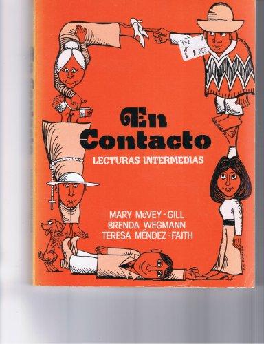 9780030477317: En contacto: Lecturas intermedias (Spanish Edition)