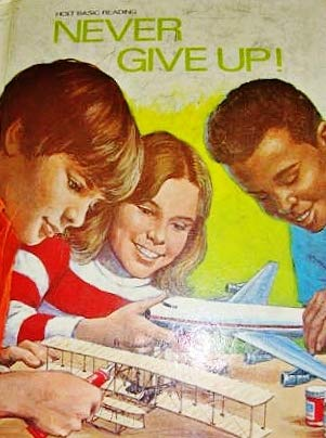 9780030478369: Never Give Up! ( Holt Basic Reading Ser. )