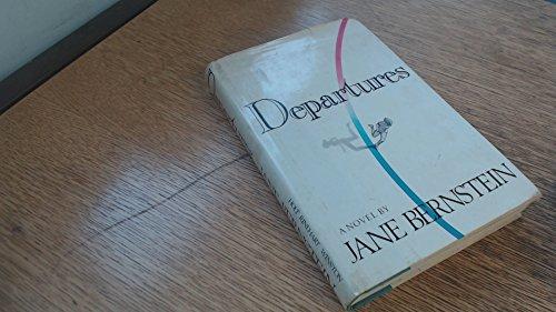 9780030482168: Departures: A novel