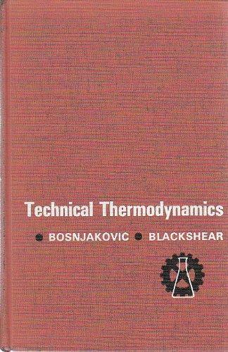 9780030483059: Technical Thermodynamics