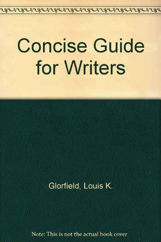 9780030483561: Concise Guide for Writers