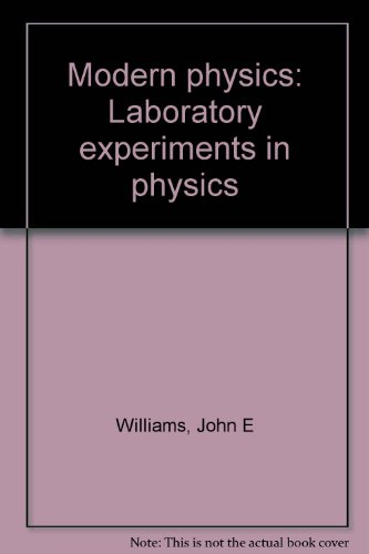 9780030487460: Modern physics: Laboratory experiments in physics