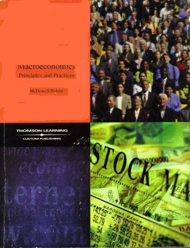 9780030489228: Macroeconomics Principles and Practices
