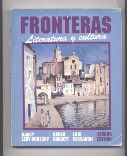 9780030490125: Fronteras: Literatura Y Cultura