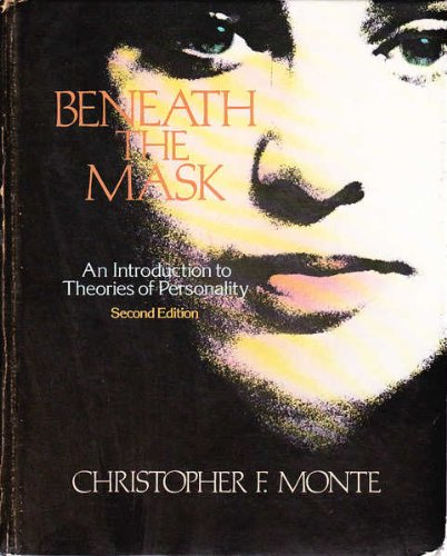 9780030490163: Beneath the Mask: An Introduction to Theories of Personality