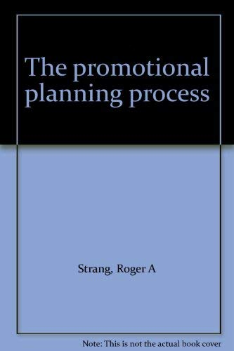 9780030491016: The promotional planning process