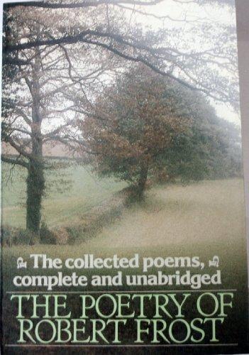 9780030491269: Poetry of Robert Frost