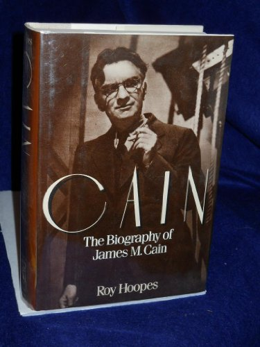 9780030493317: Cain: The Biography of James M. Cain