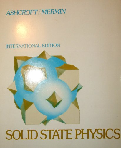 9780030493461: Solid State Physics