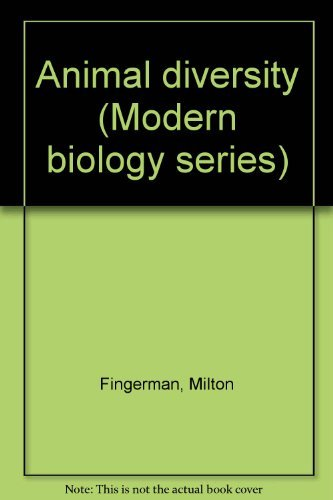 9780030496110: Animal diversity (Modern biology series)