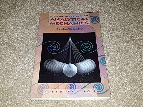 9780030496417: Analytical Mechanics