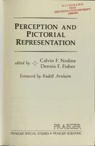 9780030498169: Perception and Pictorial Representation (Praeger special studies)