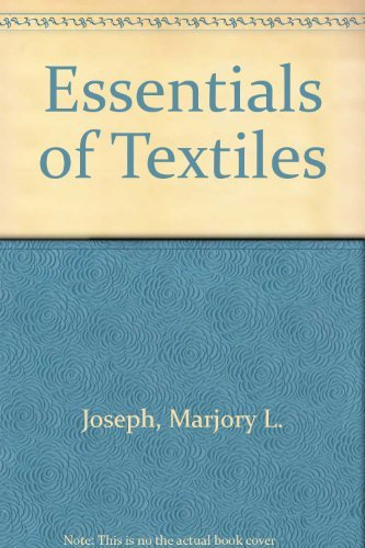 9780030498565: Essentials of Textiles
