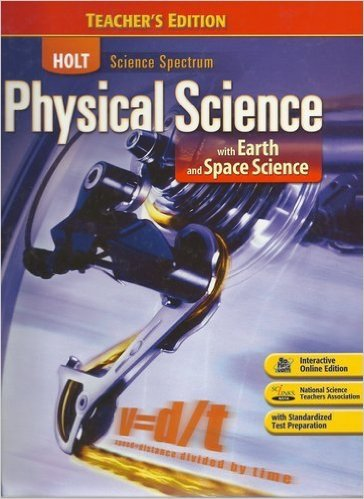 9780030498633: Holt Science Spectrum: Physical Science - With Earth and Space Science, Grades 9-12, Teacher's Edition