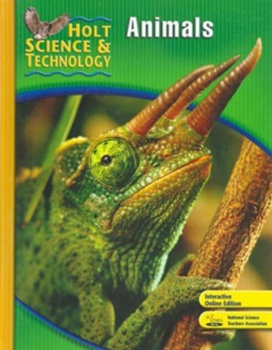 9780030499579: Holt Science & Technology: Animals, Short Course B