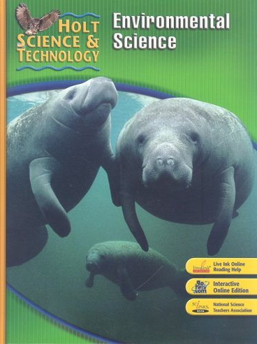 9780030500497: Holt Science & Technology: Environmental Science Short Course E