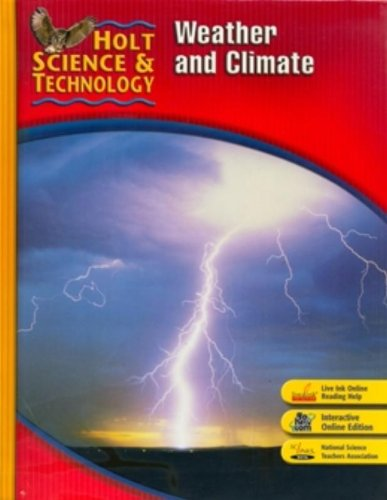 9780030500732: Holt Science & Technology: Student Edition I: Weather and Climate 2007