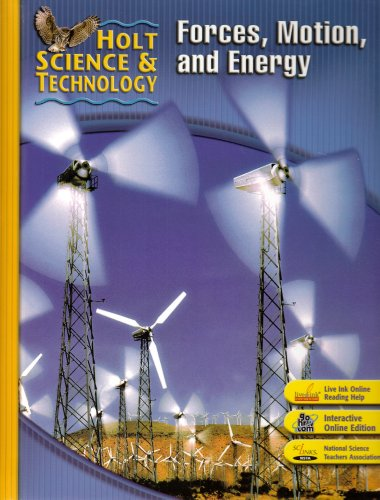 9780030501128: Holt Science & Technology: Student Edition M: Forces, Motion, and Energy 2007