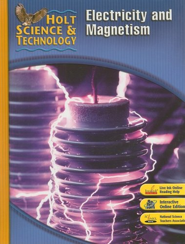 9780030501227: Holt Science & Technology: Electricity and Magnetism Short Course N