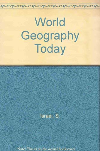9780030503269: World Geography Today