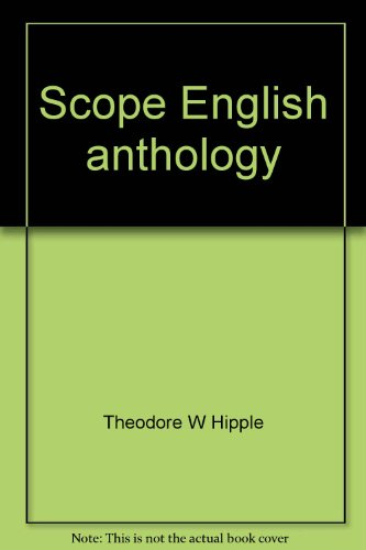 9780030504211: Scope English anthology: Literature and reading program