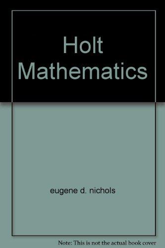 9780030505119: Holt Mathematics