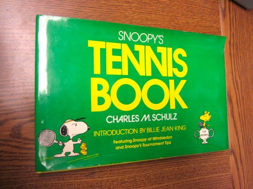 9780030505812: Snoopy's Tennis Book