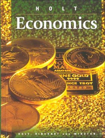 9780030505843: Economics, Holt