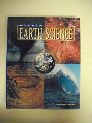 9780030506093: Modern Earth Science