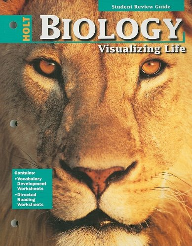 9780030506130: Holt Biology: Student Review Guide