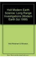 9780030506642: Holt Modern Earth Science: Long Range Investigations (Modern Earth Sci 1998)