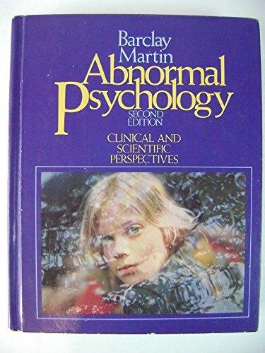 9780030507212: Abnormal Psychology
