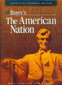 9780030507892: Boyer's The American Nation [Teacher's Edition]