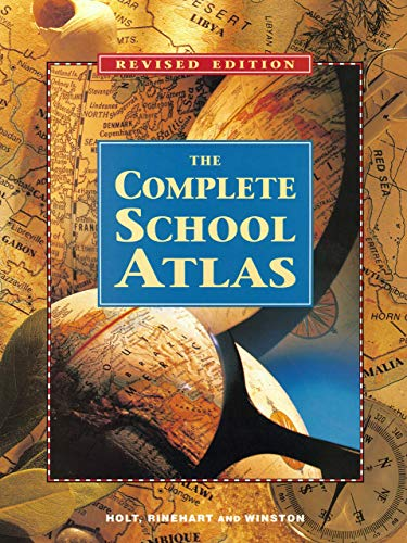 9780030508189: Holt United States History: The Complete School Atlas Grades 6-8 Beginnings to 1914