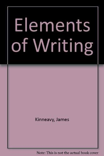 9780030508721: Elements of Writing Introductory Course, Annotated Teacher's Edition, Grade 6