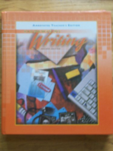 9780030508745: Elements of Writing (Annotated Teacher's Edition, Second Course)
