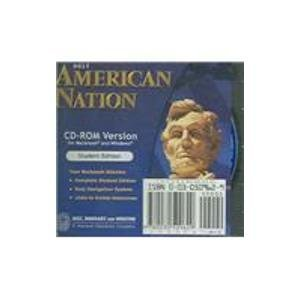9780030509629: American Nation