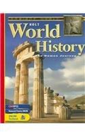 9780030509674: Holt World History: The Human Journey (Holt World History: Human Journey)
