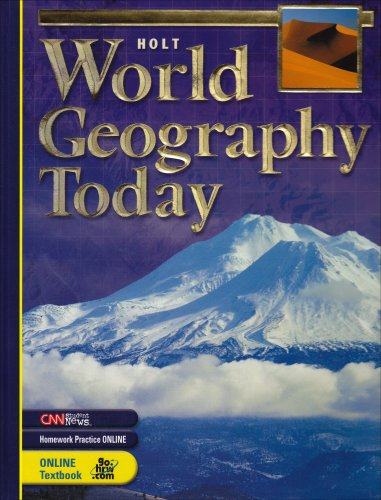 9780030509681: World Geography Today: Student Edition 2005