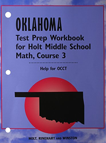 9780030509797: Holt Mathematics Oklahoma: Test Prep Workbook Course 3 OK