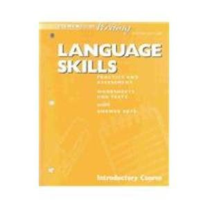 9780030511295: Langauge Skills: Practice and Assessment : Introductory Course : Worksheets and Tests With Answer Keys