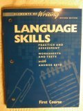 9780030511431: Language Skills Practice and Assessment Worksheets and Tests with Answer Keys, Revised Edition (Elements of Writing, 1st Course, Grade 7)
