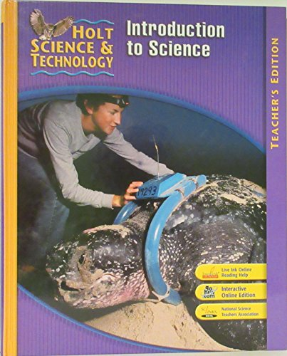 9780030512193: Holt Science & Technology: Introduction to Science Course P, Annotated Teacher's Edition