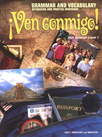 9780030513794: Ven Conmigo: Grammar and Vocabulary 1 (Spanish Edition)