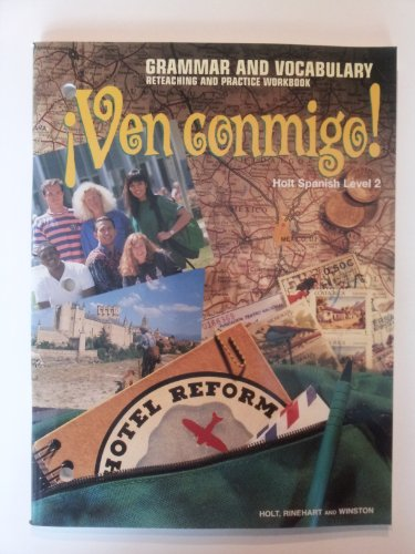 9780030513824: Ven Conmigo!: Grammar and Vocabulary 2 (Spanish Edition)
