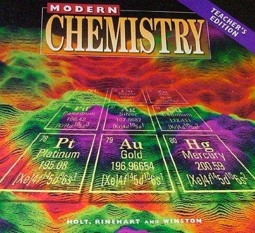 Modern Chemistry Classroom ~ Modern chemistry teacher s edition by davis raymond e