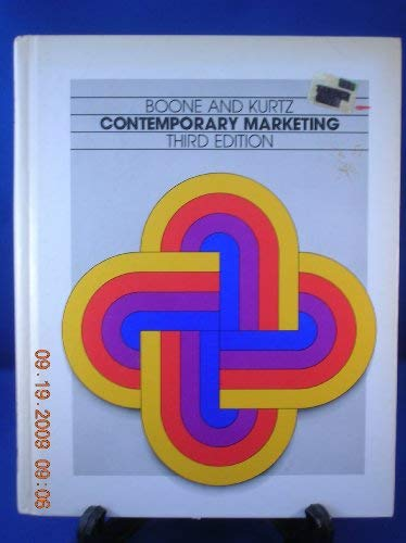 9780030513916: Contemporary Marketing (The Dryden Press series in marketing)