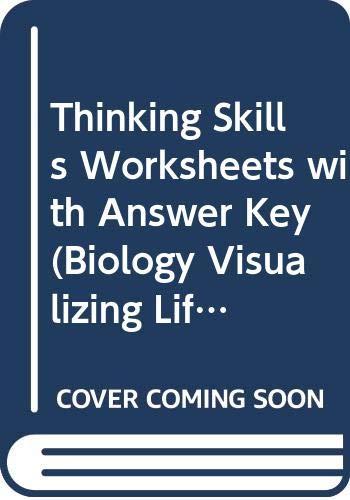9780030513930: Thinking Skills Worksheets with Answer Key (Biology Visualizing Life)