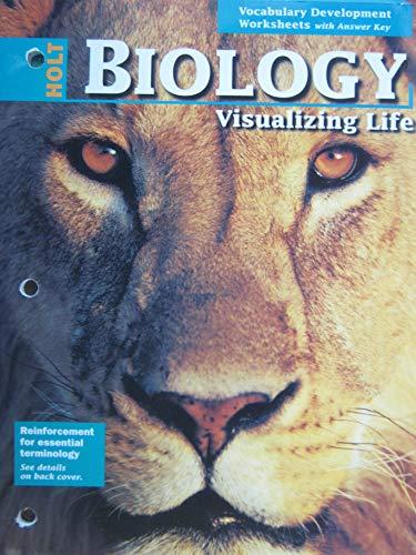9780030513978: Vocabulary Development Worksheets (Biology Visualizing Life)