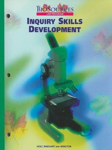 9780030513992: Holt Biosources Lab Program Inquiry Skills Development